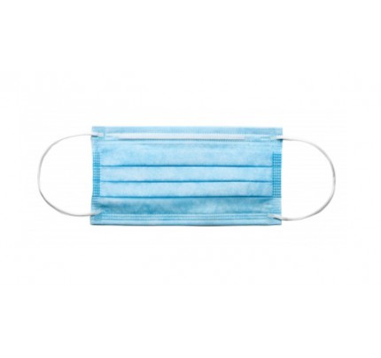 TYPE IIR 3ply Surgical Face Mask (case of 50)