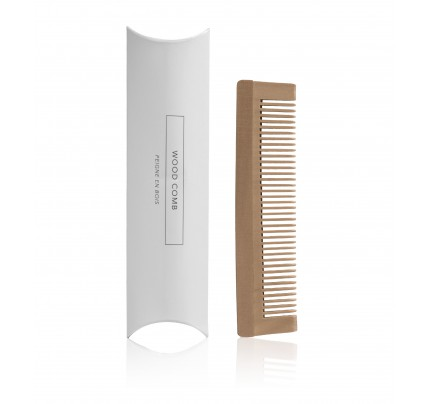 Brown Wood Comb - Box (case of 200)
